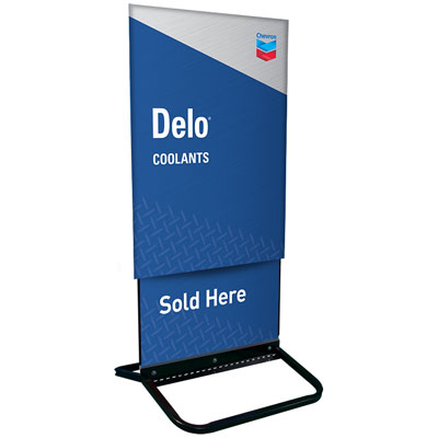 "Delo Curb Sign Sleeve - 25-3/4"" x 36"""