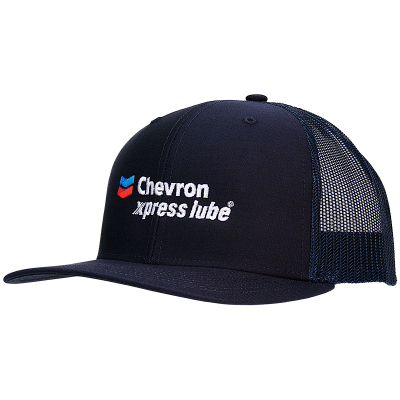 Chevron xpress lube Navy Cap (each)