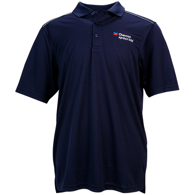Chevron xpress lube Polo Shirt - Navy