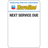 Havoline Static Clings (5 rolls of 500 = 2,500 clings) TSC Print System