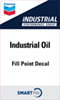 "Industrial - Industrial Oil Decal - 3"" x 5"""