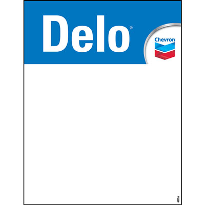 "Delo Decals - 8.5"" x 11"""