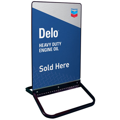 "Delo Curb Sign - 24"" x 36"""