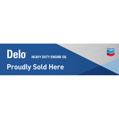 DELO Heavy Duty Motor Oil Banner