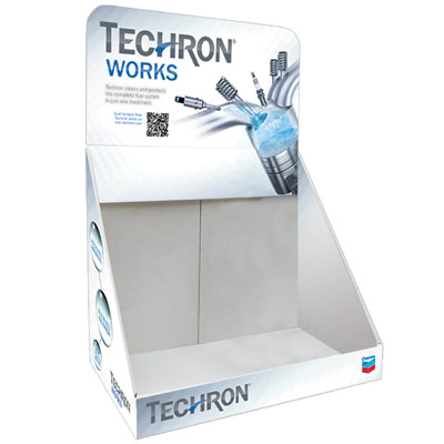 Techron Counter Display