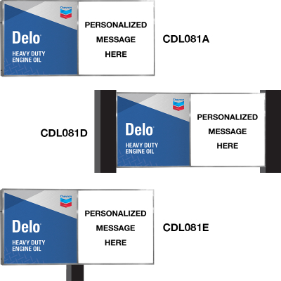 Delo Personalized Illuminated Signs