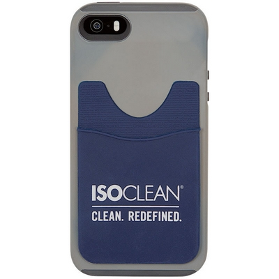 ISOCLEAN Soft Silicone Cell Phone Wallet (set/10)