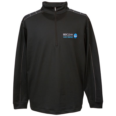 ISOCLEAN Mens Half Zip Jacket