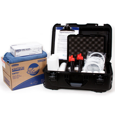 CARRY-ON APPROVED COMPLETE OIL ANALYSIS SAMPLING KIT (Large Kit)