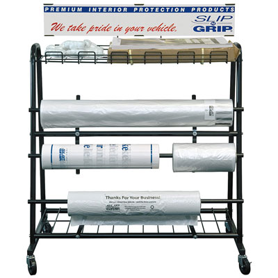 Floor Dispenser Rack
