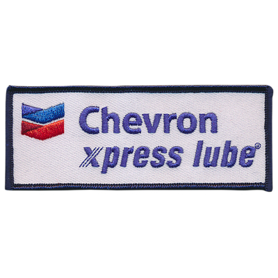 Chevron xpress lube Patches (set/5)
