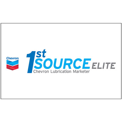 Chevron 1st Source Elite Color Decal (Two Sizes)