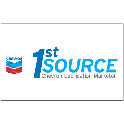 Chevron 1st Source Decal (Two Sizes)