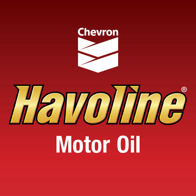 Havoline Illuminated Sign Face Only - 4' x 4'