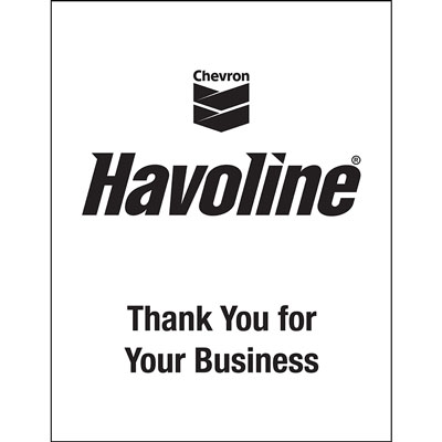 "Havoline Floor Mats - Paper w/ Poly Backing 17"" x 22"" (box/500)"