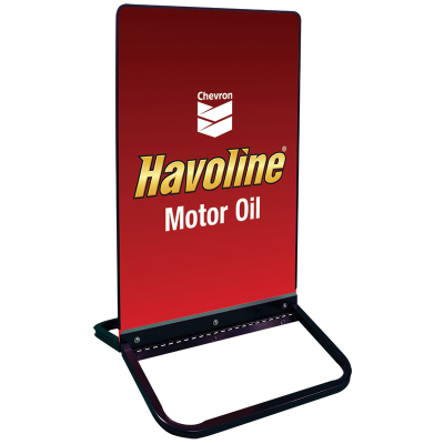 "Havoline Curb Sign - 24"" x 36"""