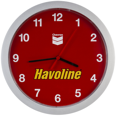 Havoline Wall Clock - Analog