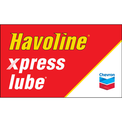 Havoline xpress lube Flag - Chevron
