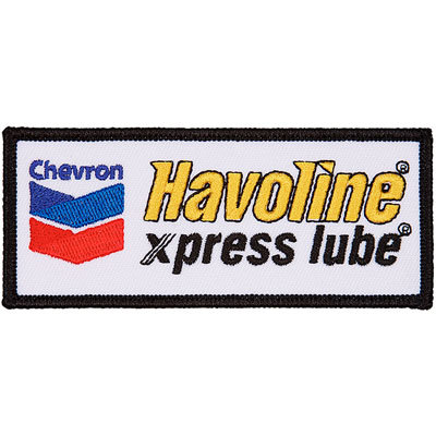 Havoline xpress lube Patches - Black (set/5)