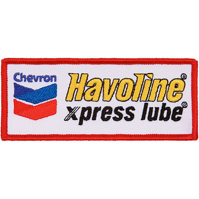 Havoline xpress lube Patches - Red (set/5)