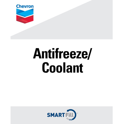 "Chevron Anti-Freeze/Coolant Decal - 7"" x 8.5"""