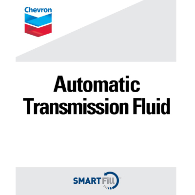 "Chevron Automatic Transmission Fluid Decal - 7"" x 8.5"""