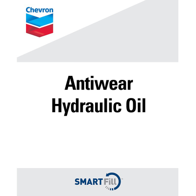 "Chevron Antiwear Hydraulic Oil Decal - 7"" x 8.5"""
