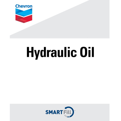 "Chevron Hydraulic Oil Decal - 7"" x 8.5"""