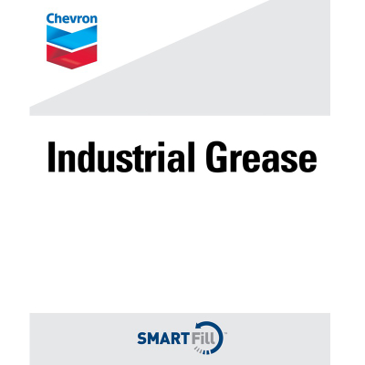 "Chevron Industrial Grease Decal - 7"" x 8. 5"""