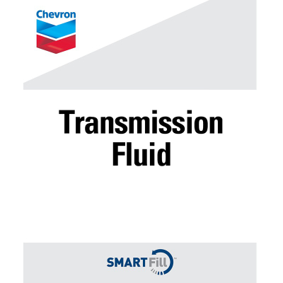 "Chevron Transmission Fluid Decal - 7"" X 8.5"""