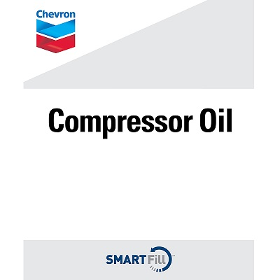 "Chevron Compressor Oil Decal - 7"" x  8.5"""