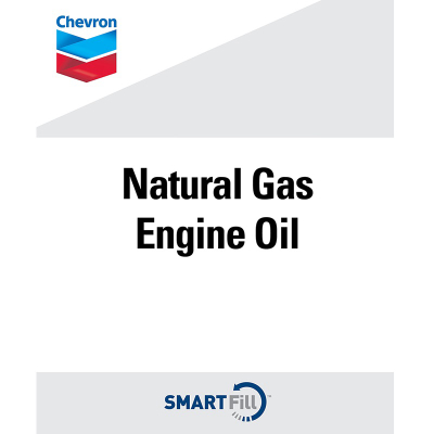 "Chevron Natural Gas Engine Oil Decal - 7"" x 8.5"""