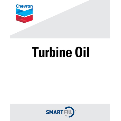 "Chevron Turbine Oils Decal - 7"" x  8.5"""
