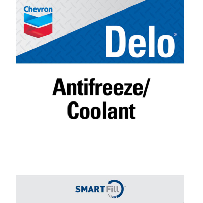 "Delo Antifreeze/Coolant Decal - 7"" x 8.5"""