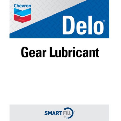 "Delo Gear Lubricant Decal - 7"" x 8.5"""