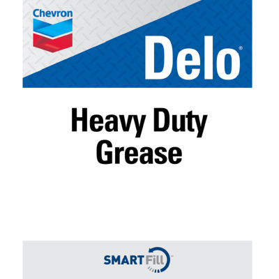 "Delo Heavy Duty Grease Decal - 7"" x 8.5"""
