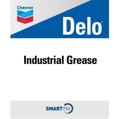 "Delo Industrial Grease Decal - 7"" x 8. 5"""