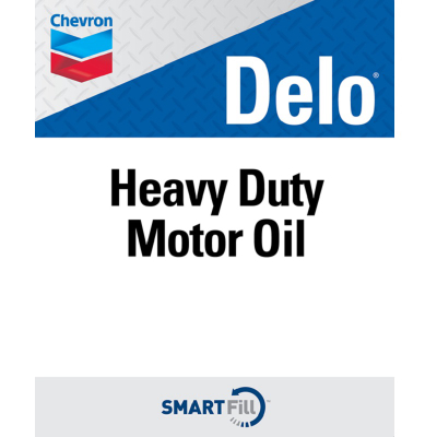 "Delo Heavy Duty Motor Oil Decal - 7"" x 8.5"""
