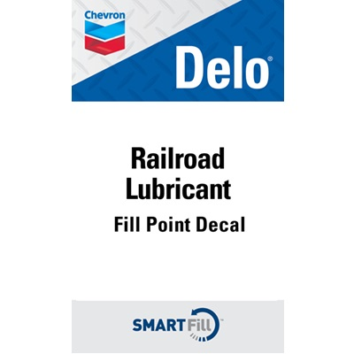 Railroad Lubricant Decal