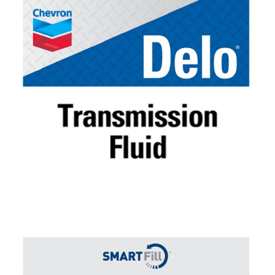 "Delo Transmission Fluid Decal - 7"" x 8.5"""