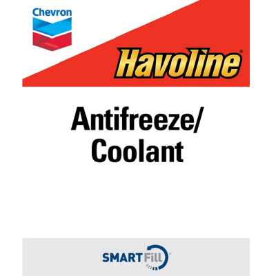 "Havoline Antifreeze/Coolant Decal - 7"" x 8.5"""