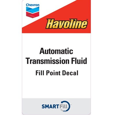 "Havoline Automatic Transmission Fluid - 3"" x 5"""