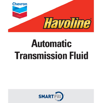"Havoline Automatic Transmission Fluid Decal - 7"" x 8.5"""