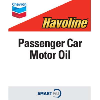 "Havoline Passenger Car Motor Oil Decal - 7"" x 8.5"""
