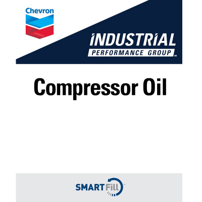 "Industrial Compressor Oil Decal - 7"" x 8.5"""