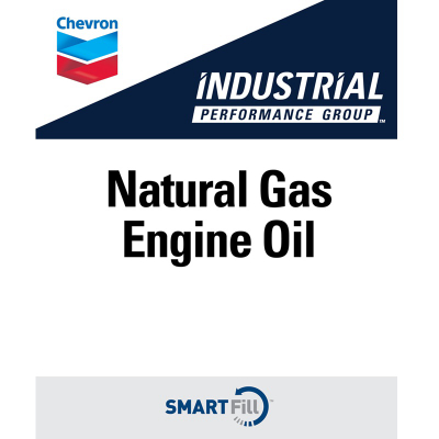 "Industrial Natural Gas Engine Oil Decal - 7"" x 8.5"""