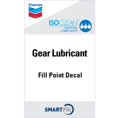 "ISOCLEAN Gear Lubricant Decal - 3"" x 5"""