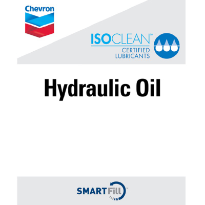 "ISOCLEAN Hydraulic Oil Decal - 7"" x 8.5"""