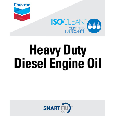 "ISOCLEAN Heavy Duty Diesel Engine Oil Decal - 7"" x 8.5"""