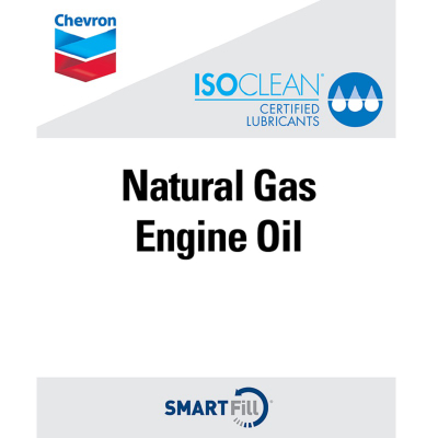 "ISOCLEAN Natural Gas Engine Oil Decal - 7"" x 8.5"""